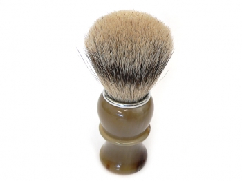 Mühle Rasierpinsel Traditional Silvertip Fibre® Metall (verchromt) Edelharz Schildpatt-Imitat