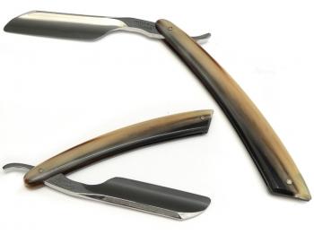 Rasierpinsel (Dachs - Silberspitz) Setangebot Ebenholz / Ton 3 teilig