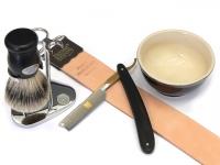 Mühle PURIST Nassrasierer Gillette® Fusion(TM) kompatibel, Maserbirke