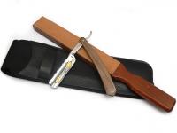 Mühle KOSMO Nassrasierer Gillette® Mach3® kompatibel, Olivenholz