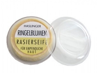 Haslinger Rasierseife Ringelblume ca. 60g in Dose