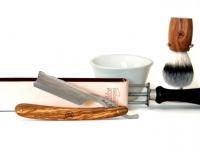 Mühle RYTMO 5-Klingen Nassrasierer Eschenholz  Gillette® FUSION® kompatibel