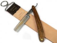 Mühle VIVO Rasierset 4-tlg. schwarz Rasierpinsel und Nassrasierer Mach3® kompatibel